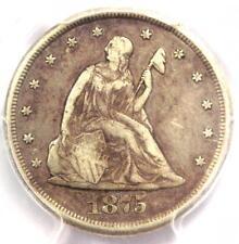 1875-CC Twenty Cent Piece 20C - PCGS XF Detail (EF) - Rare Carson City Coin!