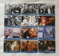 Topps Dr Who 2015 Who Is The Doctor Silver Foil Trading Card Set