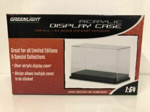Acrylic Display Case 1:64 Scale Stackable Greenlight 55025 NEW