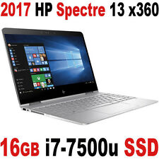 "NEW 2017 16GB 512GB SSD 7th Gen i7-7500U HP Spectre 13 x360 13.3"" FULLHD Laptop"