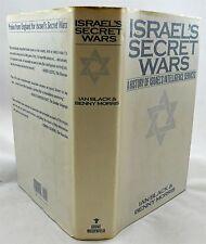 Israel's Secret Wars A History Of Israel's Intelligence Services HBDJ 1991 1stEd