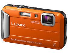 PANASONIC Lumix DMC-FT30 EG-D orange, Wasserdichte Digitalkamera (NEU) OVP
