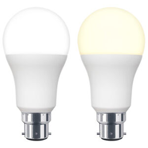 15W GLS LED Light Bulb 3 PIN Bayonet BC3 15W = 150W Warm or Cool White A60 Bulb