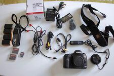 Canon EOS 5D Mark III DSLR + EF 40mm 2.8f pancake lens + Accessories