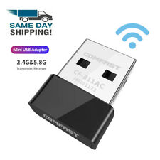 600Mbps Wireless Internet Signal Booster Wifi Range Extender USB Adapter 2.4G/5G