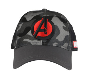 Marvel Avengers Camo Baseball Cap with embroidered logo