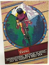 New 1980 Coors International Bicycle Classic Cycling Biking Colorado Postcard