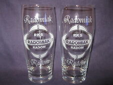 RADOMIAK RADOM szklanki do piwa 500 ml Polska-Poland (2 szt)