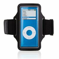 iPOD NANO 1 2 4 5 GEN - SPORTS GYM ARMBAND WORKOUT RUNNING CASE COVER STRAP