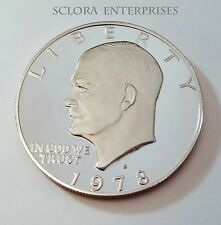 1978 S Eisenhower *Proof* Dollar Coin *Free Shipping*