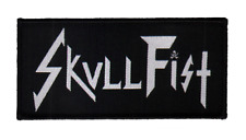Skull Fist Survêtement patch Classic Logo Courroies écusson Canadian heavy speed metal
