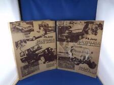JEEP 1978 TECHNICAL SERVICE MANUALS VOLUME 1 & 2 POWER PLANT CHASSIS FOLD OUTS