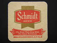 SCHMIDT BEER THE BREW THAT GREW WITH THE GREAT NORTHWEST COASTER