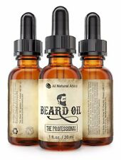 Beard Oil - All-Natural and Organic Leave-In Conditioner - The Professional