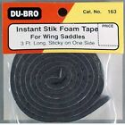 DuBro 163 Foam Saddle Tape 3' for Airplanes / Wing Hardware