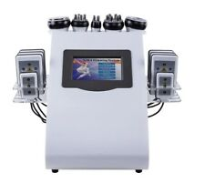 40K 6 in 1 Ultrasound Liposuction Cavitation Fat Burner Machine.