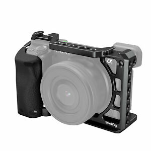 SmallRig Cage Camera with Silicone Handle for Sony A6100/ A6300 /A6400 Camera US