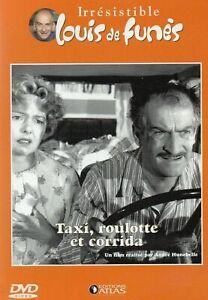TAXI ROULOTTE ET CORRIDA - DVD NEUF -  LOUIS DE FUNES