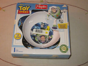 Playtex Disney Pixar TOY STORY Bowl with Steep Sides For Easy Scooping (4m+)