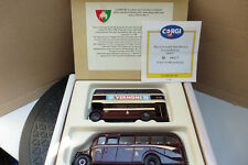 CORGI CLASSIC 97061 COVENTRY TRANSPORT BEDFORD OB COACH & AEC REGENT BOXED 1992
