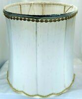 Vintage Set of 2 Lampshade Frames with Gold Tassels Lamp Shade for Restoration