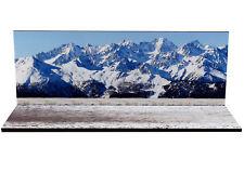 Diorama présentoir Montagne en hiver / Mountain winter - 1/43ème - #43-2-D-D-013