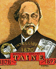 HIPPOLYTE ADOLPHE TAINE  Yt 1475  FRANCE FDC Enveloppe Lettre 1° jour