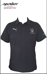 Maserati Poloshirt blau / Puma