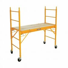 Werner Srs 72 1000 Pound Load Capacity Steel Rolling Scaffold Local Pick Up