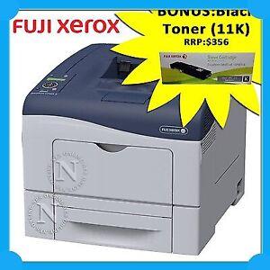 Fuji Xerox CP405d Color Laser Network Printer+Duplexer+BONUS:CT202033 11K Toner