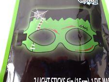 Holiday Halloween Glow Eye-Mask Frankenstein Style 1 Set