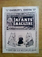 CADBURY'S COCOA - PARTRIDGE - THE INFANTS' MAGAZINE N°422 - 1901 - RARE