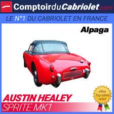 Capote Austin Healey Sprite MK1 Frog Eyes cabriolet - Alpaga Stayfast®