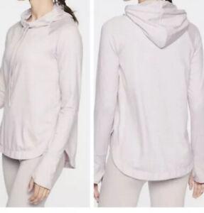 ATHLETA Uptempo Hoodie Sweatshirt Large Soft Lilac CYA Top LN