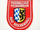 Freiwillige Feuerwehr Bad Reichenhall Firefighters Shoulder Patch