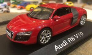 Audi R8 V10 Schuco 1/43 Audi dealer box