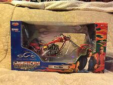 "JoyRide 2004 OCC Orange County Choppers American Chopper ""Fire Bike"" Collectible"