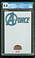 CGC 9.8 A-FORCE #1 MARVEL COMICS 2015 1ST APPEARANCE OF SINGULARITY