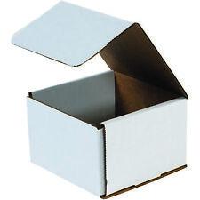 "Box Partners Corrugated Mailers 8"" x 8"" x 5"" White 50/Bundle M885"