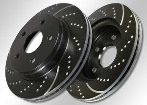 EBC Turbo Groove Bremsscheiben Hinterachse Brake Disc GD1251