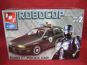 Robocop Detroit Police Patrol Car Ford Taurus Robo 1 AMT 1:25 Model Kit 38037