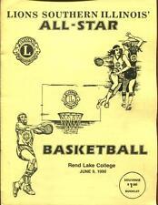 High School Basketball Program Illinois 1990 Tournament Lions Clubs