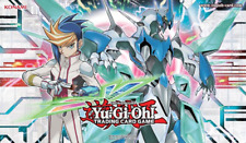 "YuGiOh! Win-A-Mat Yugo & ""Clear Wing Synchro Dragon"" (2016) Playmat"