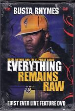 Busta Rhymes - Everything Remains Raw: Live In Concert (DVD, 2004) WORLD SHIP!