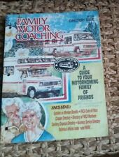 1986 Family Motor Coach Directory MOTORHOME MAGAZINE RV Trailer Camper