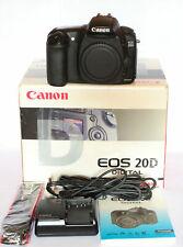 Canon EOS 20D 8.2MP Digital SLR Camera Black Kit w/ EF-S IS 18-55mm Lens IOB