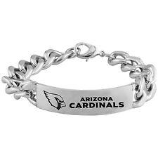 NFL * Arizona Cardinals * Stainless Steel * Logo ID Bracelet * Jewelry * New