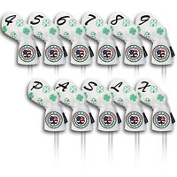 Golf Headcovers Set Iron Club Cover 11pcs For Callaway Taylormade Case Protector