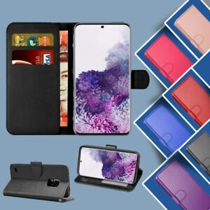 Flip Leather Case for Samsung S21 S20 FE S10 S9 Note 20 10 Magnetic Wallet Cover
