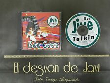 S1018-BEE GEES LIVE JIVE TALKIN CD 1993 MEGA RARE UNOFFICIAL DISCO EX COVER VG